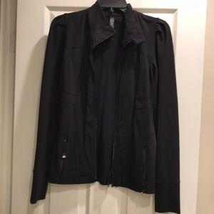 LJ BLACK work out jacket from Lorna Jane